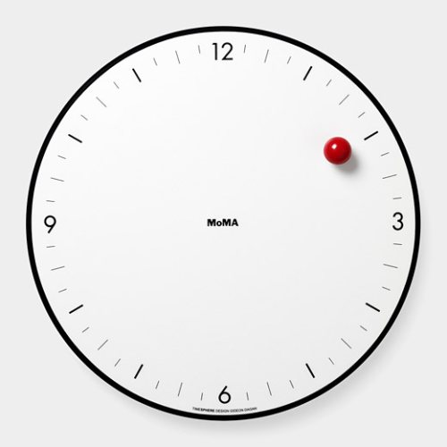 Timesphere-Clock_White_Dial_Red_Ball