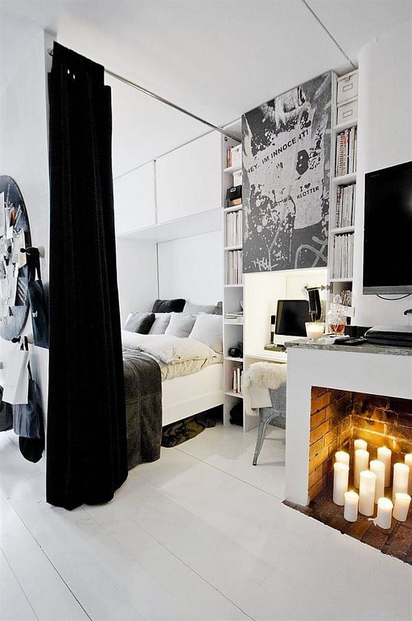 czarno-bialy-apartament-sypialnia-2
