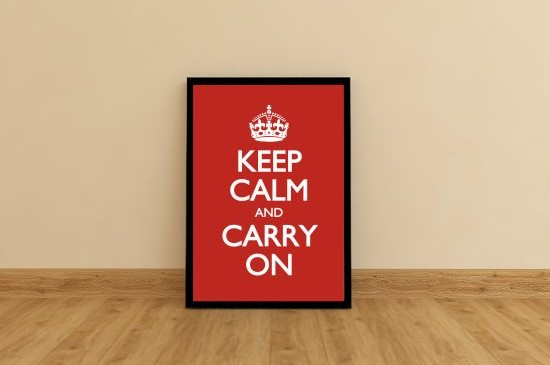 Keep Calm And Carry On – historia plakatu.