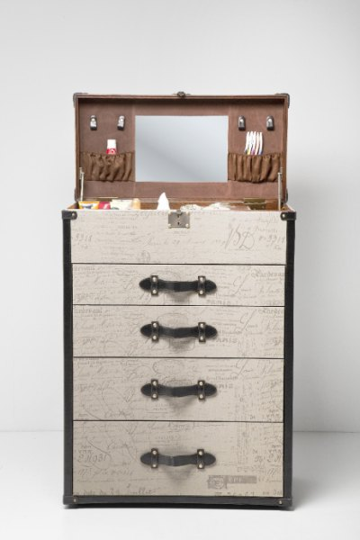 Komoda z toaletką Vintage Make Up, Kare design, 9design.pl