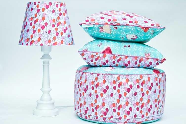 Funkcjonalne pufy dla dzieci od Lamps&Co.