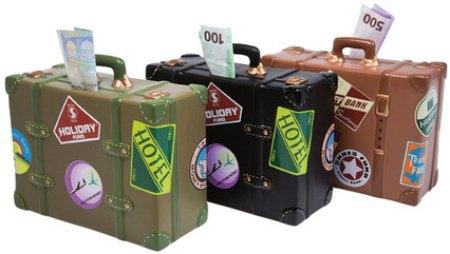 Skarbonki walizki, Kare design, 9design.pl