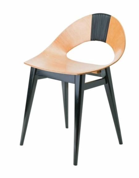 Krzesło 'Muszelka' - Teresa Kruszewska