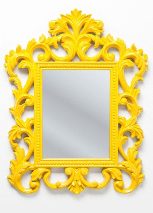 Kare design :: Lustro Modern Barock Yellow