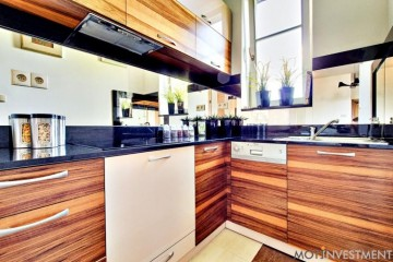 drewniane meble kuchenne, kuchnia