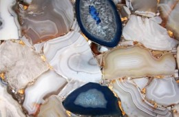 kamień dekoracyjny, niebiesko szary kamień na ścianę
