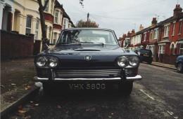 samochód, triumph, anglia,