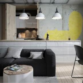 The Cat – minimalistyczny loft.