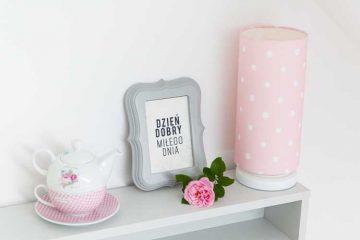dekoracje do pokoju dziewczynki, ramka na zdjecie
