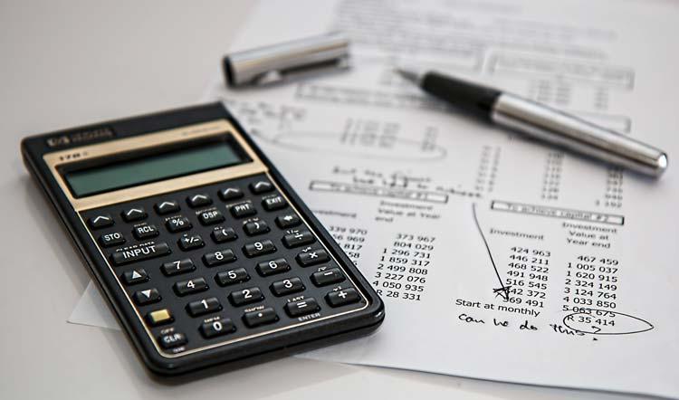 kalkulatror, liczby, wycena,