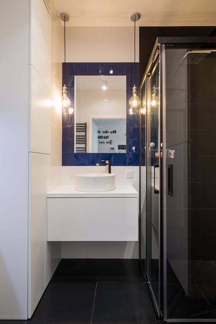 Mała nowoczesna łazienka