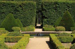 francuski ogród regularny, w stylu barokowym
