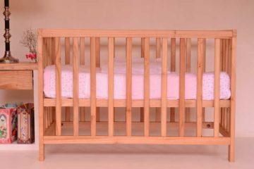klasyczne łóżeczko dziecięce