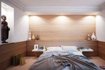 sypialnia w orientalnym stylu