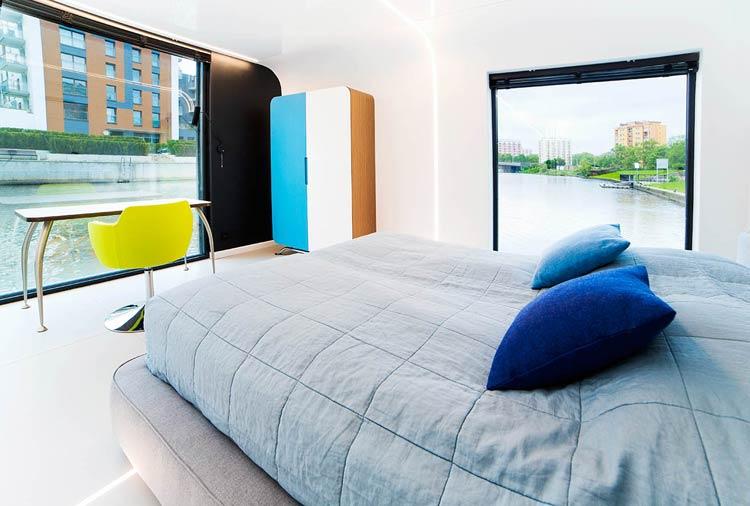 Hotel na wodzie Flohotel w Gdańsku